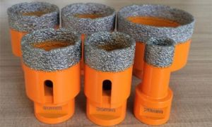 Vacuum Brazed Hole Saw Diamond Core Drill Bits for Drilling Granite Marble Ceramic Tile Glass